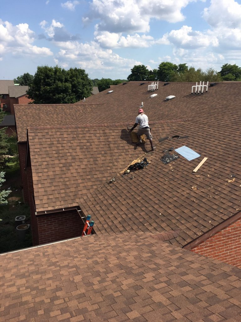 roof repair and flat roofing